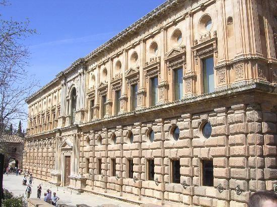 Arquitectura Renacimiento España Carlos V